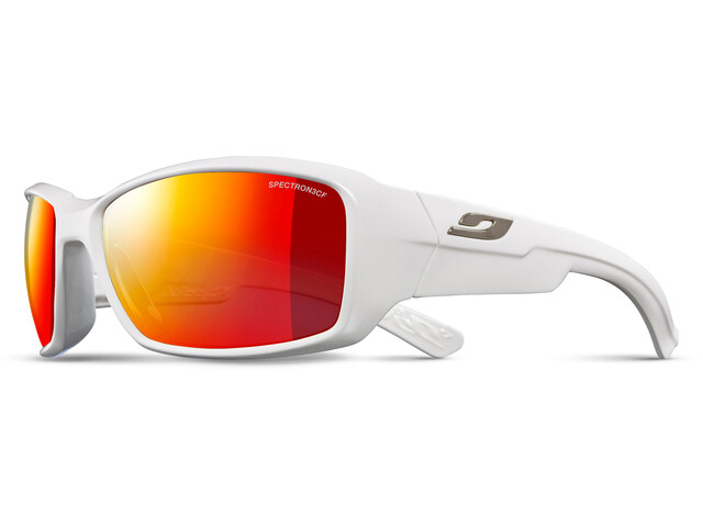 Julbo Whoops Spectron 3CF Occhiali da sole, shiny white-red
